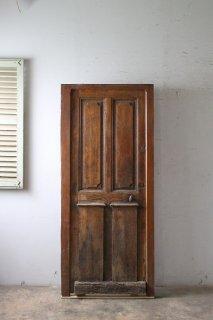 アンティーク 木枠付き 玄関ドア