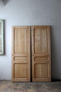 アンティーク無塗装パネルドア 同型同サイズ