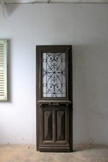アンティーク アイアン飾り玄関ドア