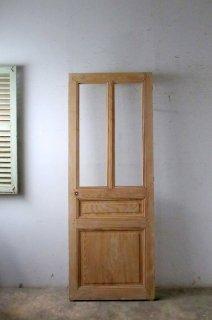 無塗装ガラスドア