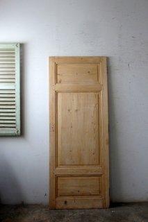 無塗装パネルドア