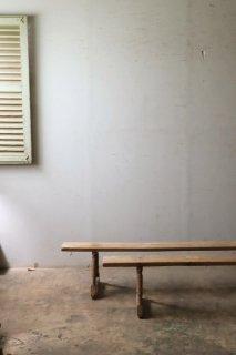 無垢の長椅子 2脚セット