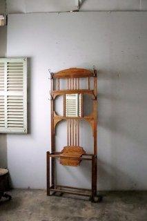 アンティーク フレンチコート掛け 壁付け家具