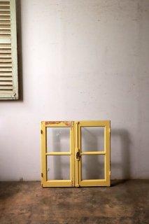 小さめフレンチガラス窓