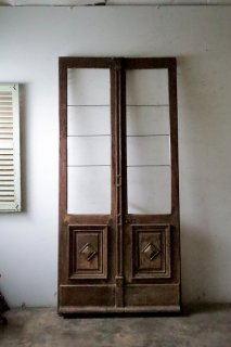 アンティーク観音開き玄関ドア