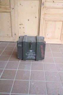 ミリタリー 木箱 フランス軍