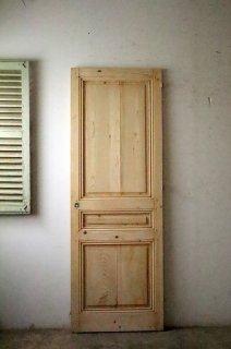 無塗装フレンチパネルドア