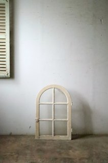アーチガラス窓 シングル