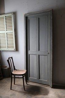 木枠付きアンティークパネルドア