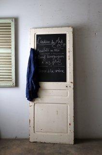 チョークボードペイントドア フレンチパネルドア ブラックボード