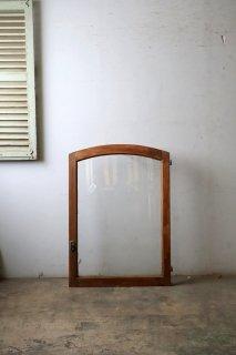 アンティーク アーチガラス窓