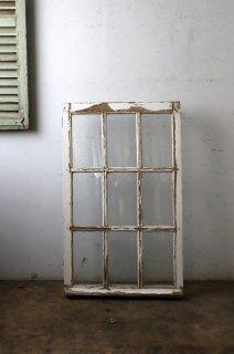 アンティークフレンチガラス窓 シングル窓 FIX