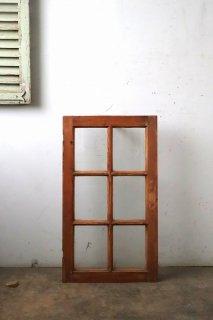 無塗装フレンチガラス窓 シングル