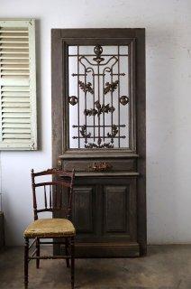 ダークシャビー アイアン飾り玄関ドア