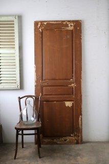 アンティーク 木製パネルドア