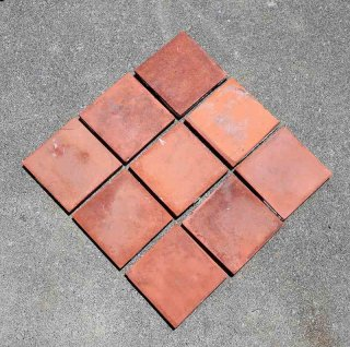 ヴィンテージ テラコッタタイル 15×15