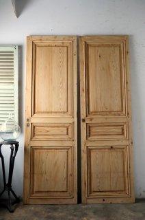 無塗装パネルドア 同型ほぼ同サイズ2枚あり