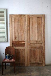 無塗装観音開きドア