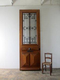 特大サイズのアイアン玄関ドア