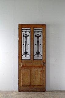 アイアン飾りフレンチアンティークドア