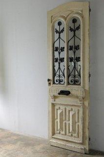 ダブルアーチガラス アンティーク玄関ドア