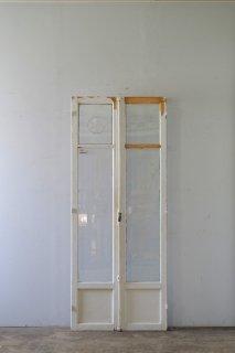 ベンチレーター付き アンティーク ガラス戸