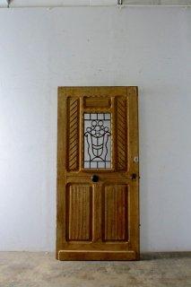 無塗装シンプルアイアン 玄関ドア