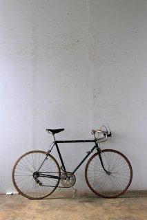 ヴィンテージグリーンのロードバイク