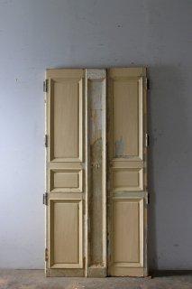 アンティーク 観音開き 木製ドア