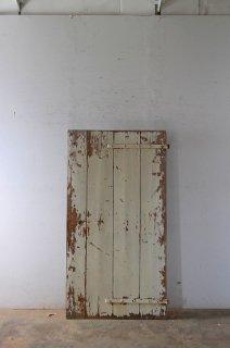 アンティーク木製パネルドア