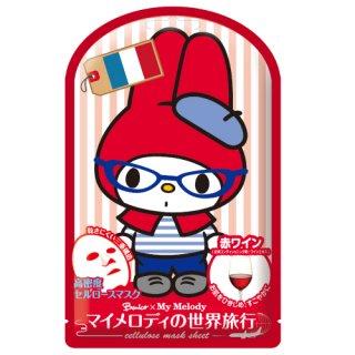 ベニコ×マイメロディ世界旅行マスクシートF(フランス)