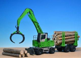 セネネボーゲン735E 材木運搬
