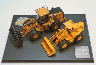 CAT966A+CAT966M ホィ−ルローダ