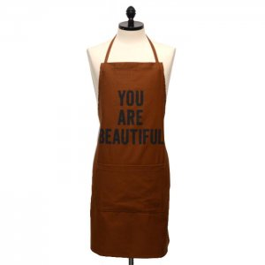 <img class='new_mark_img1' src='//img.shop-pro.jp/img/new/icons50.gif' style='border:none;display:inline;margin:0px;padding:0px;width:auto;' />DRESSSEN Adult Color apron  BRN ドレッセン アダルトカラーエプロン  ブラウン