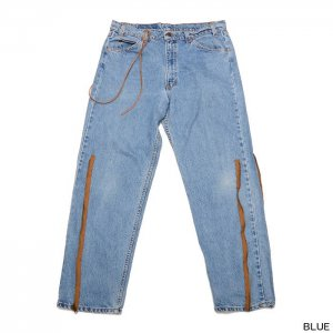 <img class='new_mark_img1' src='//img.shop-pro.jp/img/new/icons6.gif' style='border:none;display:inline;margin:0px;padding:0px;width:auto;' />MAISON EUREKA VINTAGE REWORK JODHPER PANTS 039
