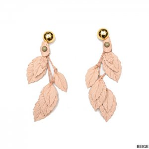 <img class='new_mark_img1' src='//img.shop-pro.jp/img/new/icons1.gif' style='border:none;display:inline;margin:0px;padding:0px;width:auto;' />THE Dallas ザ・ダラス Leather leaf earrings レザーリーフイヤリング D7S-28