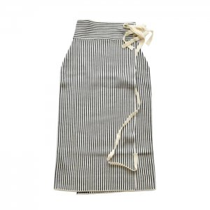 <img class='new_mark_img1' src='https://img.shop-pro.jp/img/new/icons21.gif' style='border:none;display:inline;margin:0px;padding:0px;width:auto;' />30%OFF TAN タン STRIPES WRAP SKIRT  ストライプラップスカート 19AW-19