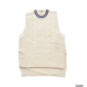 <img class='new_mark_img1' src='https://img.shop-pro.jp/img/new/icons1.gif' style='border:none;display:inline;margin:0px;padding:0px;width:auto;' />PHEENY フィーニー tilden knit big vest チルデンニットビッグベスト PA19-KT02