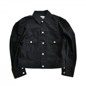 <img class='new_mark_img1' src='https://img.shop-pro.jp/img/new/icons50.gif' style='border:none;display:inline;margin:0px;padding:0px;width:auto;' />HOLIDAY ホリデイ PUFF SLEEVE DENIM JACKET パフスリーブデニムジャケット 20202225