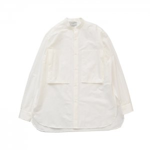 <img class='new_mark_img1' src='https://img.shop-pro.jp/img/new/icons50.gif' style='border:none;display:inline;margin:0px;padding:0px;width:auto;' />YOKE ヨーク BAND COLLAR LONG SHIRTS バンドカラーロングシャツ YK20SS0100SH