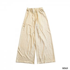 <img class='new_mark_img1' src='https://img.shop-pro.jp/img/new/icons1.gif' style='border:none;display:inline;margin:0px;padding:0px;width:auto;' />PHEENY フィーニー Foiled linen easy pants イージーパンツ PS20-CS19