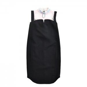 Mame Kurogouchi マメ クロゴウチ Embroidery Collar Sleeveless Dress
