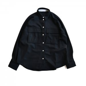<img class='new_mark_img1' src='https://img.shop-pro.jp/img/new/icons50.gif' style='border:none;display:inline;margin:0px;padding:0px;width:auto;' />CINOH チノ WOOL JERSEY SHIRT ウールジャージーシャツ 20WST006