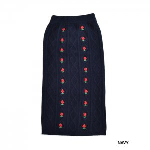 <img class='new_mark_img1' src='https://img.shop-pro.jp/img/new/icons1.gif' style='border:none;display:inline;margin:0px;padding:0px;width:auto;' />HOLIDAY ホリデイ FLOWER KNIT LONG SKIRT フラワーニットスカート20204436