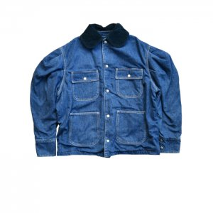 <img class='new_mark_img1' src='https://img.shop-pro.jp/img/new/icons1.gif' style='border:none;display:inline;margin:0px;padding:0px;width:auto;' />HOLIDAY ホリデイ PUFF SLEEVE DENIM COVER-ALL パフスリーブデニムカバーオール 20202425