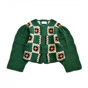 <img class='new_mark_img1' src='https://img.shop-pro.jp/img/new/icons1.gif' style='border:none;display:inline;margin:0px;padding:0px;width:auto;' />HOLIDAY ホリデイ CROCHET MINI CARDIGAN クロシェットミニカーディガン 21104530