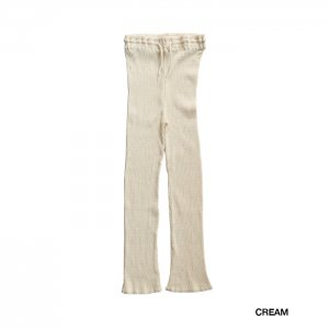 <img class='new_mark_img1' src='https://img.shop-pro.jp/img/new/icons1.gif' style='border:none;display:inline;margin:0px;padding:0px;width:auto;' />babaco ババコ Cotton Ribbed Pants コットンリブパンツ BA01-LI82