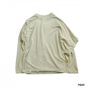<img class='new_mark_img1' src='https://img.shop-pro.jp/img/new/icons1.gif' style='border:none;display:inline;margin:0px;padding:0px;width:auto;' />PHEENY フィーニー Cotton nylon seer layered Tee コットンナイロンシアーレイヤードT PS21-CS13