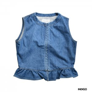 <img class='new_mark_img1' src='https://img.shop-pro.jp/img/new/icons1.gif' style='border:none;display:inline;margin:0px;padding:0px;width:auto;' />HOLIDAY ホリデイ DENIM BUSTIER デニムビスチェ 21202726