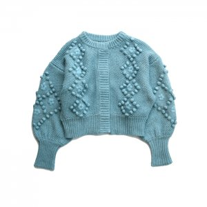 <img class='new_mark_img1' src='https://img.shop-pro.jp/img/new/icons1.gif' style='border:none;display:inline;margin:0px;padding:0px;width:auto;' />HOLIDAY ホリデイ WOOL CASHMERE PONPON KNIT CARDIGAN ポンポンニットカーディガン21204738